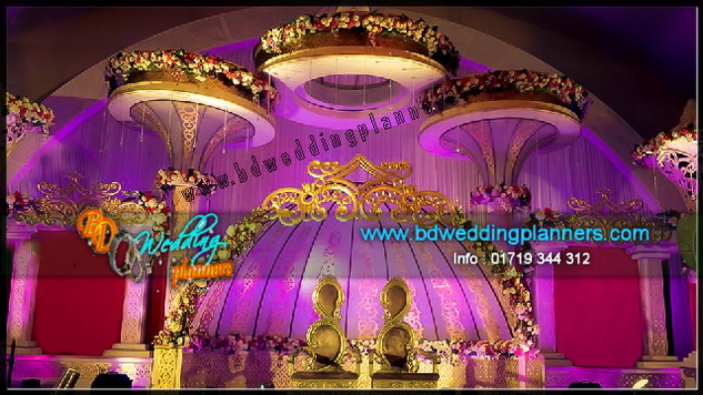 exclusive wedding planning & design stage by bdweddingplanners.com