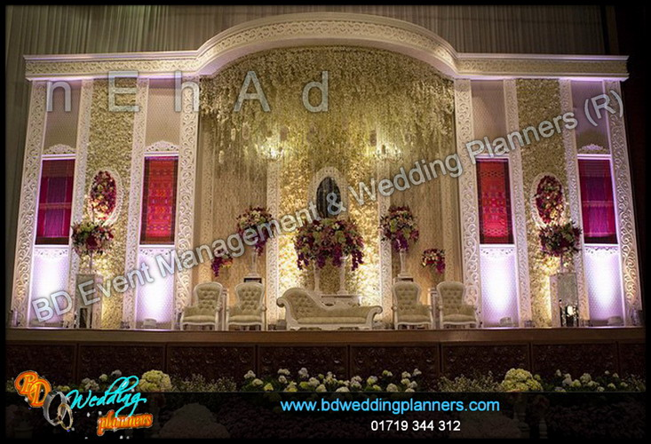 Wedding stage bd event management wedding planners for American wedding stage decoration