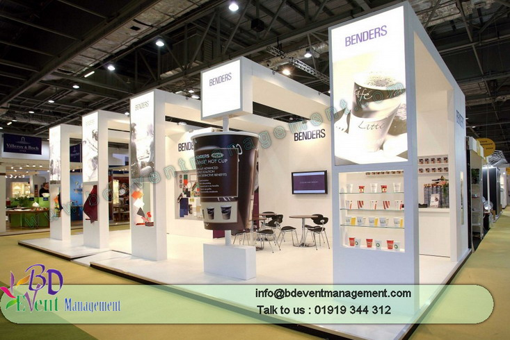 Wedding Exhibition Stall : Event stall meeting stage bd management