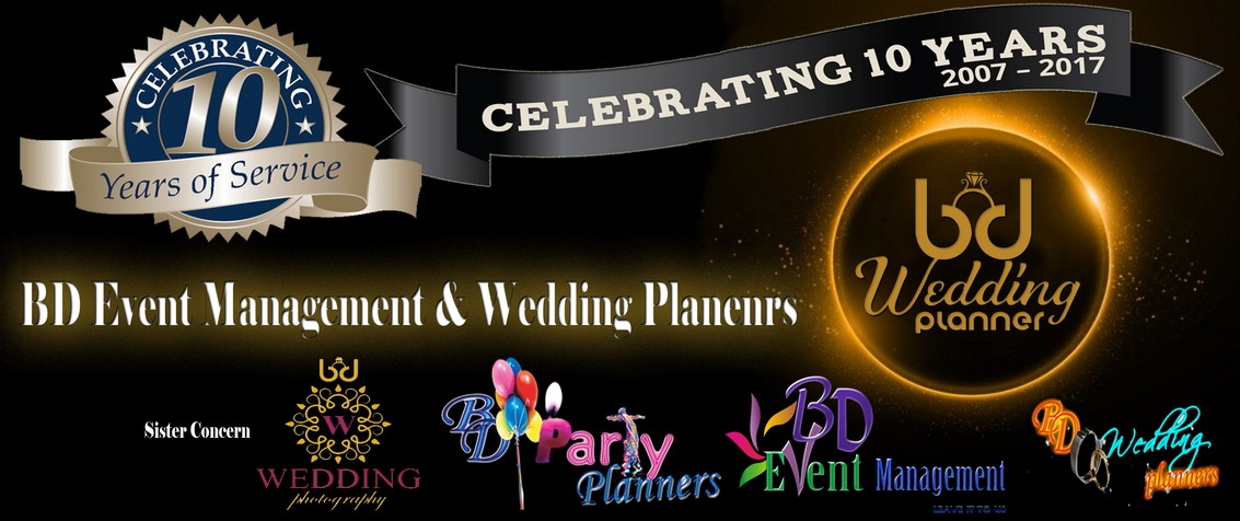 Celebrating 10 Year Of Service Bd Event Management Wedding