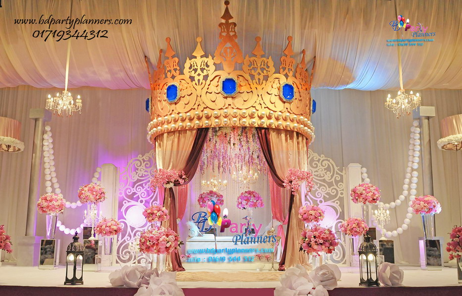 A Royal Crown Theme Birthday Party \u2013 BD Party Planners